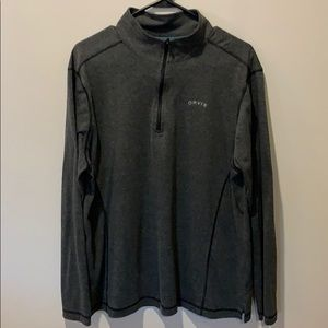 Men's Orvis quarter zip pullover